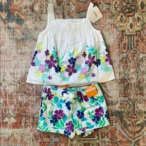 Cutest Floral Short Set